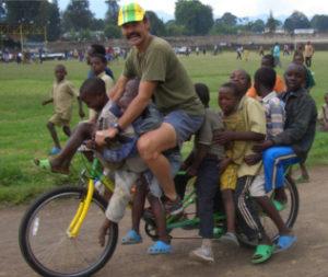 Tom Ritchey in Rwanda